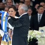 Hernandez sworn in as Honduras president