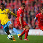 Liverpool 1-3 Crystal Palace: Pardew's men spoil Gerrard's Anfield farewell