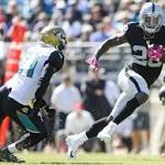 Raiders stay undefeated on the road in 33-16 rout of Jaguars