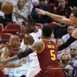 Heat roll past LeBron-less Cavaliers, 99-84