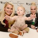 Jessica Simpson's Daughter Maxwell Steals the Spotlight at Her Fashion Line ...