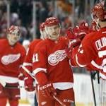 Red Wings' hard-working fourth line chips in offensively in impressive victory ...