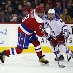 Alex Ovechkin scores, Justin Williams nets hat trick as Capitals thump Rangers ...
