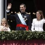 King Felipe VI begins his reign in Spain
