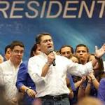 Ruling party officially wins Honduran presidency
