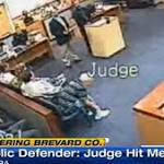 Florida judge accused of punching attorney