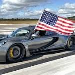 Hennessey Venom GT claims top speed record for USA at 270 mph
