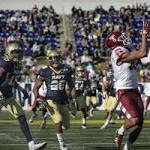 Navy football is beaten up, knocked off by Temple in AAC championship