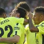 Lionel Messi helps Barcelona clinch Spanish league title with win at Atletico ...