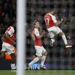 Sanchez's double eases Arsenal back into third place in EPL with 2-0 victory over West Bromwich Albion