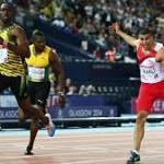 England's Adam Gemili claims men's 100m silver