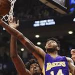 'Very solid' Ingram a bright spot in Lakers' loss