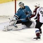 Sharks beat Avalanche in shootout