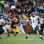 Eagles up 14-10 on Washington Redskins in mistake-filled first half by Mark ...