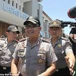 Bali police chief laughs as Bali Nine smugglers pray for their lives