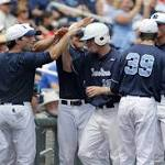 UNC tops LSU 4-2 to stay alive in CWS
