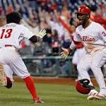 Phillies beat Mets in 11 as Bourjos comes through