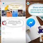 """Facebook """"Messenger Day"""" is the chat app's new Snapchat Stories clone"""