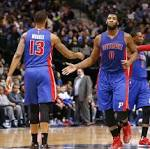 Andre Drummond explodes as Detroit Pistons open road trip with win at Dallas