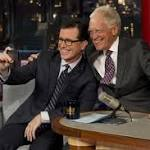 Old friends bid adieu as 'Late Show' host wraps it up