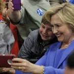 Clinton leans on Democratic loyalists to gain upper hand in Kentucky primary