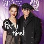 Johnny Depp & Amber Heard Throw Engagement Party