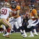 Ponder helps 49ers to 31-24 exhibition win over Broncos