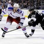 Get your game notes: Rangers at Kings