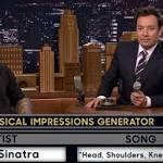 Jimmy Fallon, Adam Levine do their best musical impressions