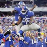Fortune finally favors Giants