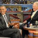 Letterman ignored the 'don't be silly' rule