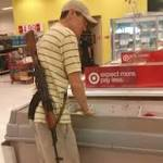 Target caught in the middle of gun-rights squabble