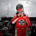 Graham Rahal wins IndyCar race at Fontana as drivers question safety