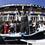 IndyCar: Montoya wins IndyCar race at Pocono
