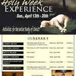 Area church news from April 3 - 9