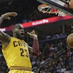 NBA roundup: Cavaliers' James moves into 12th on scoring list