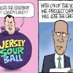 Christie mocks Kasich and Ohio: Darcy cartoon