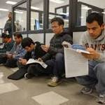DMV expects 100000 undocumented to seek licenses by week's end