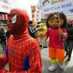 Costumed Spider-Man convicted of harassment in NYC