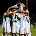Argentina top ahead of tight-knit chasing pack
