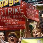All In agenda: Fast food workers strike in cities nationwide