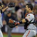 Old hat for Giants: Chris Heston tosses no-hitter