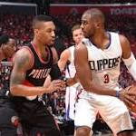 Clippers' Game 1 blowout of Blazers a sign of things to come