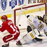 Red Wings end Bruins road run