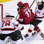 Coyotes hold off Devils