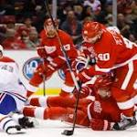 Wings fall to Canadiens, 4-1
