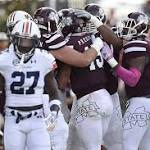 No. 6 Mississippi State upsets No. 2 Auburn, flexes candidacy as nation's best