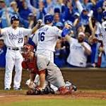 Kansas City Royals sweep the Los Angeles Angels following 8-3 win in ALDS