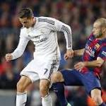 Soccer-Barcelona beaten at home, Real hammer Osasuna