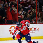 Capitals spit up two-goal lead, fall in shootout to lowly Oilers, 5-4